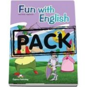 Curs de limba engleza - Fun with English 2 Primary Pupils Book (with multi-ROM)