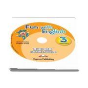 Curs de limba engleza - Fun with English 3 Primary multi ROM (CD Rom & Audio CD)