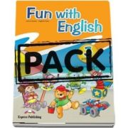 Curs de limba engleza - Fun with English 3 Primary Pupils Book with multi ROM