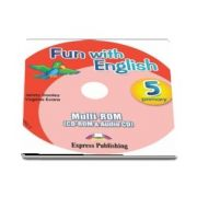Curs de limba engleza - Fun with English 5 Primary multi ROM (CD Rom and Audio CD)