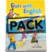 Curs de limba engleza - Fun with English 6 Primary Pupils Book (with multi ROM)