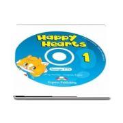 Curs de limba engleza - Happy Hearts 1 Songs CD