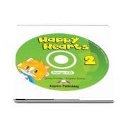 Curs de limba engleza - Happy Hearts 2 Songs CD