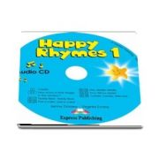 Curs de limba engleza - Happy Rhymes 1 Audio CD