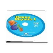 Curs de limba engleza - Happy Rhymes 1 DVD