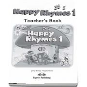 Curs de limba engleza - Happy Rhymes 1 Teachers Book