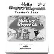 Curs de limba engleza - Hello Happy Rhymes Teachers Book