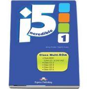 Curs de limba engleza - Incredible 5 Level 1 Class Multi Rom (set 5 Cd uri)