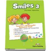 Curs de limba engleza - Smiles 3 Teachers Multimedia Resource Pack