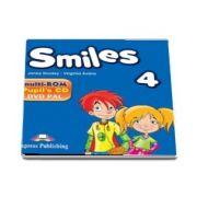 Curs de limba engleza - Smiles 4 Multi Rom