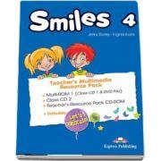 Curs de limba engleza - Smiles 4 Teachers Multimedia Resource Pack