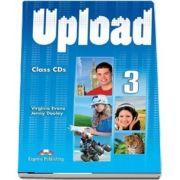 Curs de limba engleza - Upload 3 Class Audio CD (set 4 CD uri)