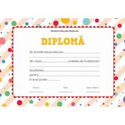 Diploma - Format A4 (model imagine buline)