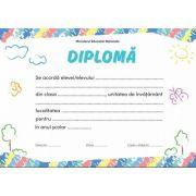 Diploma - Format A4 (model imagine natura)