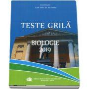 Biologie. Teste grila 2019 de Ion Daniel