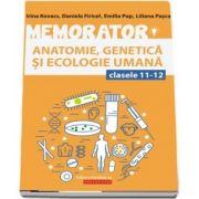 Memorator de anatomie, genetica si ecologie umana pentru clasele XI-XII
