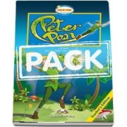 Peter Pan Book with Audio CDs and DVD Video
