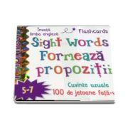 Sight words. Formeaza propozitii