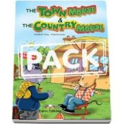 The Town Mouse and The Country Mouse Story Book with Multi Rom