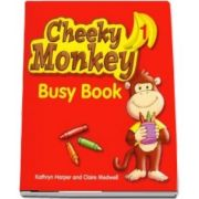 Cheeky Monkey 1 Busy Book