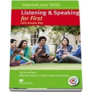 Listening and Speaking for First Students Book with key and MPO Pack