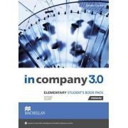 In Company 3. 0 Elementary Level Students Book Pack