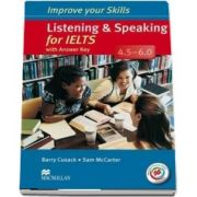 Listening and Speaking for IELTS 4.5-6.0. Students Book with key and MPO Pack
