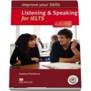 Listening and Speaking for IELTS 6.0-7.5 Students Book without key and MPO Pack