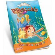 Pinocchio. Carte de colorat