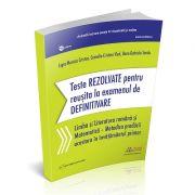 Teste REZOLVATE pentru reusita la examenul de DEFINITIVARE invatatori