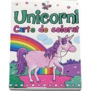 Unicorni. Carte de colorat