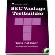 BEC Vantage Testbuilder and CD Pack