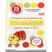 Culegere de probleme de matematica, PUISORUL, pentru clasa a VI-a - Editia 25, revizuita si adaugita