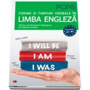Forme si timpuri verbale in limba engleza. Nivelurile A1-B2. Pons