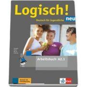 Logisch! neu A2.1 Deutsch fur Jugendliche Arbeitsbuch mit Audios zum Download