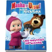 Masha si Ursul. Incepe aventura. Un invitat special