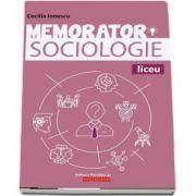 Memorator de sociologie pentru liceu (Cecilia Ionescu)