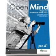 Open Mind British edition Beginner Level Students Book Pack
