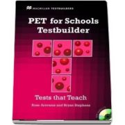 PET for Schools Testbuilder. Students Book with key and CD Pack