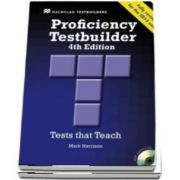 Proficiency Testbuilder. Students Book without key Pack, Editia 2013