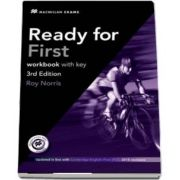 Ready for First 3rd Edition Workbook plus Audio CD Pack with Key