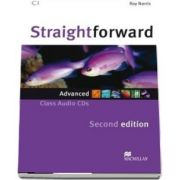 Straightforward 2nd Edition Advanced Level Class Audio CD