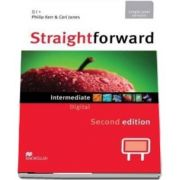 Straightforward 2nd Edition Intermediate Level Digital DVD Rom Single User