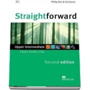 Straightforward 2nd Edition Upper Intermediate Level Class Audio CDx2