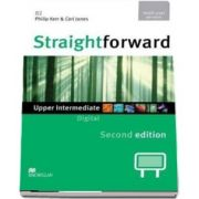 Straightforward 2nd Edition Upper Intermediate Level Digital DVD Rom Multiple User