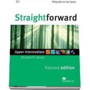 Straightforward 2nd Edition Upper Intermediate Level Students Book