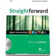 Straightforward 2nd Edition Upper Intermediate Level Workbook with key and CD Pack