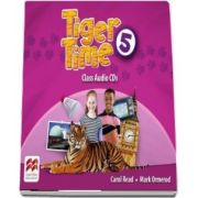 Tiger Time Level 5. Audio CD