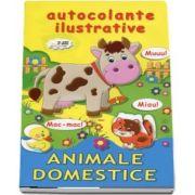 Autocolante ilustrative. Animale domestice