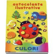 Autocolante ilustrative. Culori